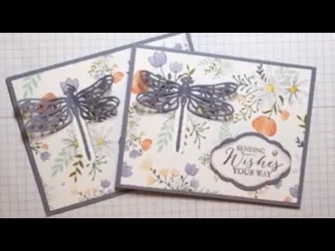 Dragon Fly Pop Up Card