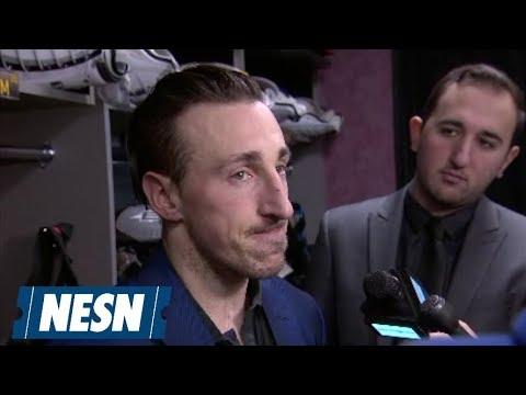 Video: Bruins Face Avalanche Top Line Of Landeskog, MacKinnon & Rantanen