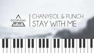 [Goblin OST] 찬열 (Chanyeol), 펀치 (Punch) - Stay With Me Piano Cover Video