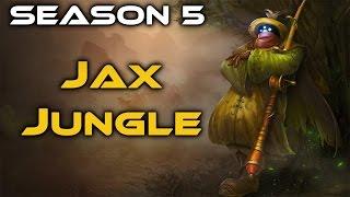 Full game hướng dẫn Jax đi rừng gánh team cực bá