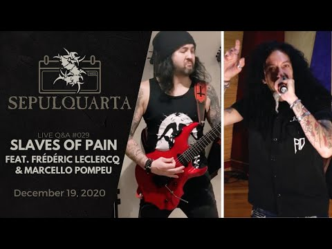 Sepultura - Slaves of Pain (feat. Frédéric Leclercq & Marcello Pompeu)