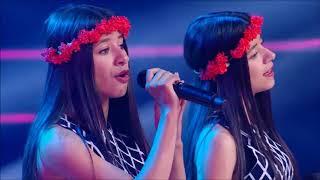 Video Twins | Gemel@s - The Voice Kids/Teens - Audiciones/Blind Auditions MP3, 3GP, MP4, WEBM, AVI, FLV Juni 2019