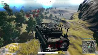 PUBG - Late Game Circle Fail! The team wouldn't come to the 4x4 when the circle was on its way late game, so it called for some ...