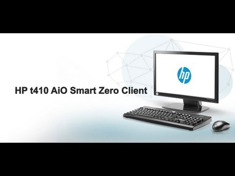 HP t410 AiO Smart Zero Client
