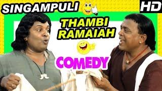 Video Singampuli, Thambi Ramaiah Comedy Scenes | Kaaviya Thalaivan Tamil Movie | Siddharth | Prithviraj MP3, 3GP, MP4, WEBM, AVI, FLV Maret 2019