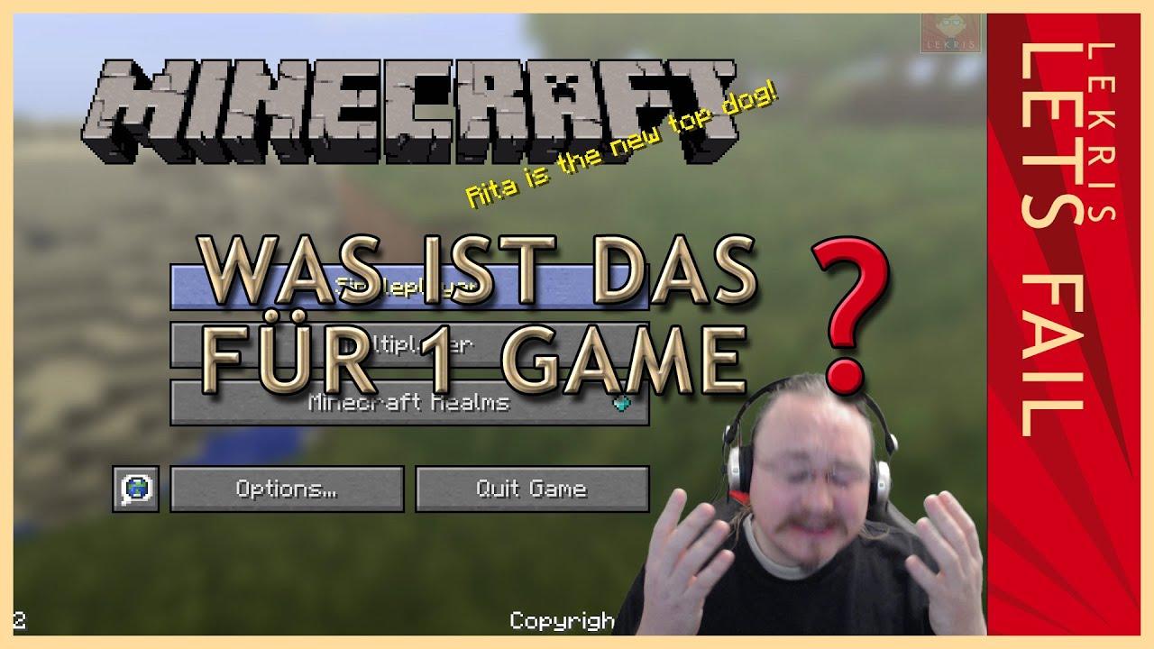 Was ist das für 1 Game? - Let's Fail Minecraft