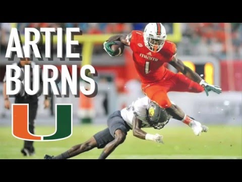 Steelers pick CB from Miami, Artie Burns, in 1st Round