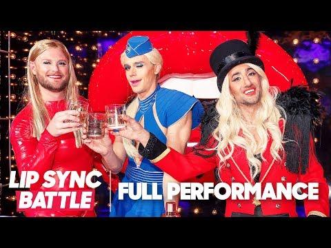 "Queer Eye Perform Britney Spears' ""Work Bitch"" & Lady Gaga & Beyoncé's ""Telephone""   Lip Sync Battle"