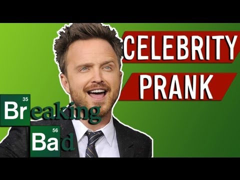 Celebrity Prank ft. Aaron Paul (Breaking Bad)