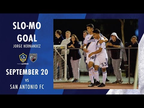 Video: SLO-MO GOAL: Jorge Hernandez vs. San Antonio FC | Sept. 20, 2019