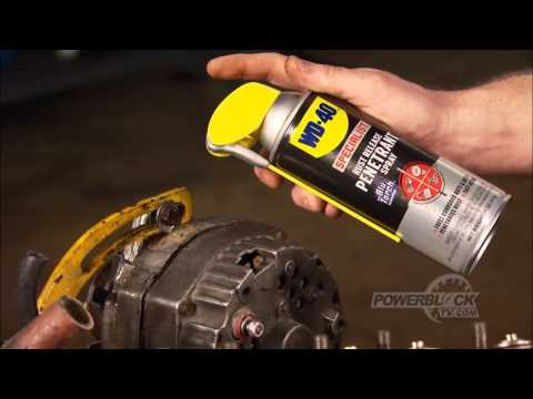car maintenance and repair tips wd 40 video tips. Black Bedroom Furniture Sets. Home Design Ideas