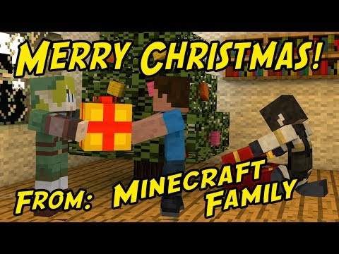 Minecraft Family #12: MERRY CHRISTMAS!
