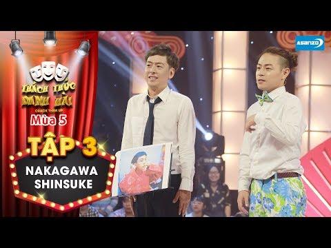 Thách thức danh hài 5| Tập 3: Cặp đôi bá đạo người Nhật quay trở lại khiến Trấn Thành cực phấn khích - Thời lượng: 6 phút, 17 giây.