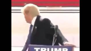 Donald Trump Gets Interrupted By Mexican Music