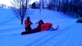 10. crossfire 600 deep snow
