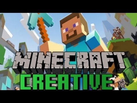 Minecraft Creative/Bölüm 1 - Map'e Gel!