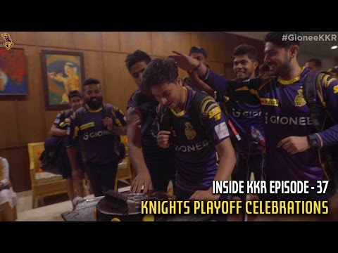 Knights Playoff Celebrations | Inside KKR - Episode 37 | VIVO IPL 2016