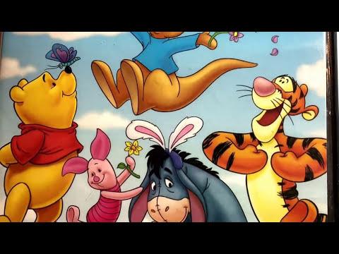 Winnie The Pooh Springtime With Roo / Disney Cartoon / DVD Movie Collection Display