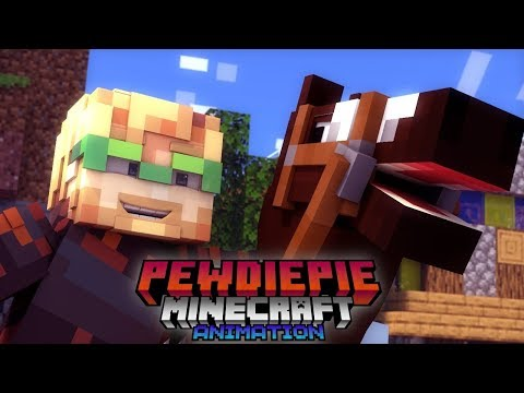 Goodbye Joergen 😢 ( PewDiePie Minecraft Animation )