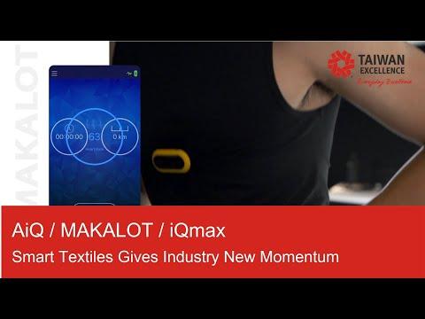 Smart Textile-AiQ/MAKALOT/iQmax
