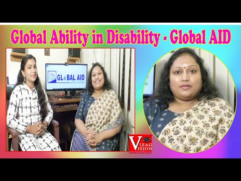 Special Interview | Sai Padma | Global Ability in Disability - Global AID | Visakhapatnam | Vizagvision