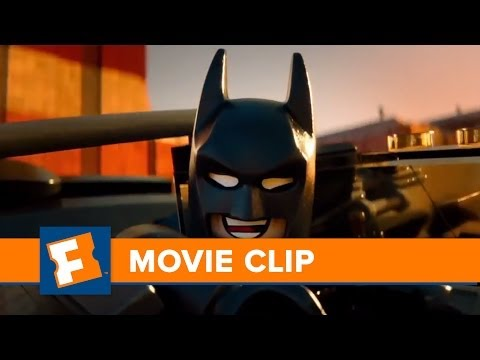 "The Lego Movie ""I am Batman"" Clip HD 