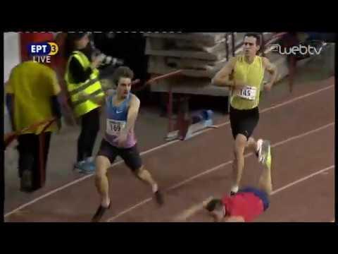 Δεν πίστευε τη νίκη του ο Δουκατέλης στα 200μ! | 29/02/2020 | ΕΡΤ