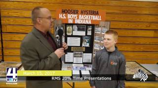 Rochester Middle School 20% Time Presentations