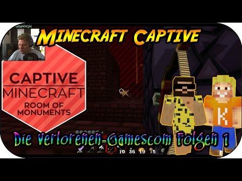 MINECRAFT CAPTIVE # 13 - Die verlorenen Gamescom Folgen 1 «» Let's Play Minecraft Captive