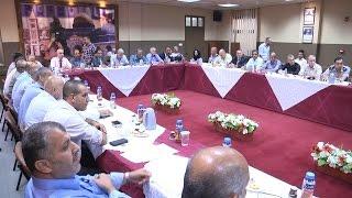 إجتماع المجلس التنفيذي في محافظة طولكرم