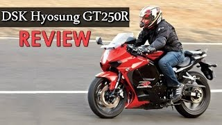 8. DSK Hyosung GT250R facelift | REVIEW | Top Speed