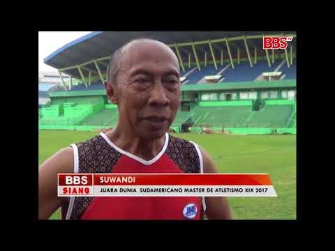 Sport News - KAKEK 63 TAHUN JUARA LARI DUNIA