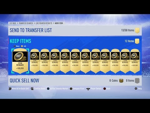 FIFA 19 HOW TO GET 100K FOR FREE!!! *FREE COINS*