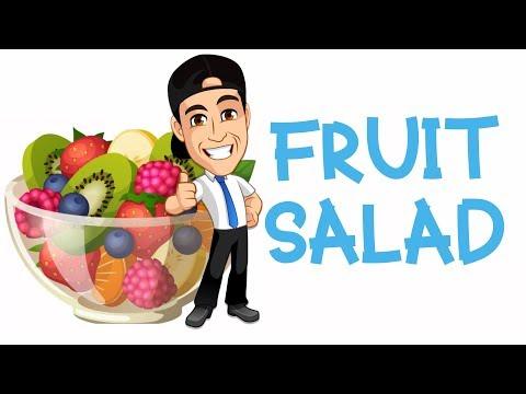 Kids learn fruit | Kids make fruit salad | Toddler fun learning