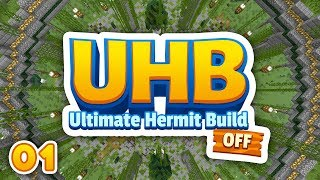 UHC & BUILD BATTLE?! • | ULTIMATE HERMIT BUILD OFF | Hermitcraft