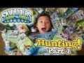 "Skylanders SWAP FORCE HUNTING - PART 1 (Wave 1) - Toys ""R"" Us, Walmart, Target & Gamestop Shopping!"