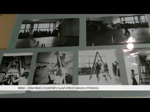 TV Brno 1: 8.2.2018 Dům pánů z Kunštátu slaví výročí novou výstavou.