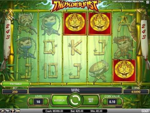 Thunderfist Slots - Spela Thunderfist Slots Gratis Online