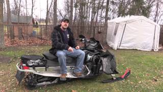10. Removing Skidoo Electric Start - How Much Weight Loss? Will RER still work? - BogieWheelz!