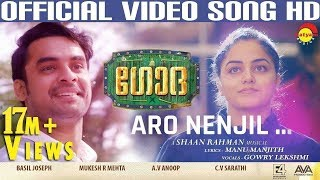 Video Aaro Nenjil Video Song with Lyrics | Godha Official | Tovino Thomas | Wamiqa Gabbi | Shaan Rahman MP3, 3GP, MP4, WEBM, AVI, FLV September 2018