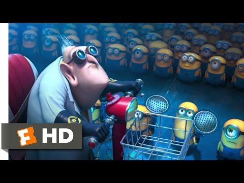 Despicable Me 2 (3/10) Movie CLIP - Dr. Nefario Quits (2013) HD (видео)