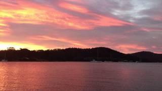 Nubeena Australia  city photos : Atardecer en Nubeena, Tasmania