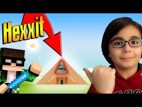 Gizemli Piramit!!! | Minecraft Hexxit #2