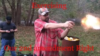 Wheelersburg (OH) United States  city images : Exercising..........Our 2nd amendment Right