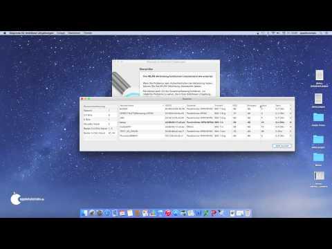 WLAN Scanner unter Mac OS X finden