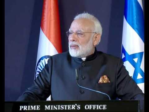 PM Modi's Speech at Joint Press Statements with PM Benjamin Netanyahu in Jerusalem, Israel