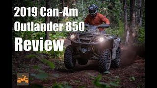 2. 2019 Can-Am Outlander 850 Review- ATV ESCAPE