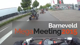 6. Mega Quad Meeting 2015 Barneveld | Yamaha Raptor 700r | GoPro