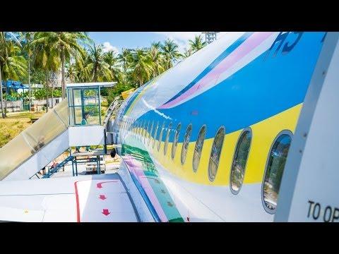 Koh Samui Airport Departure Thailand