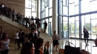 Gangnam Style flash mob at MIT Sloan school
